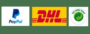 PayPal DHL Grüner Punkt